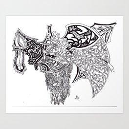 Ascendio Art Print