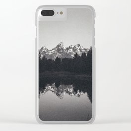 Schwabachers Landing, Grand Tetons National Park Clear iPhone Case