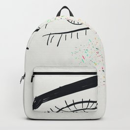 Colorful freckles Backpack