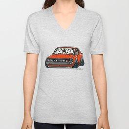 Crazy Car Art 0147 Unisex V-Neck