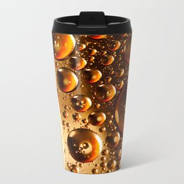Oil And Water Don't Mix Metal Travel Mug