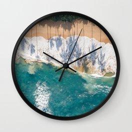 Palm Trees Shadows Wall Clock