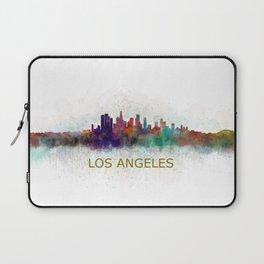 Los Angeles City Skyline HQ v4 Laptop Sleeve
