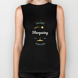 Stargazing T-Shirt Biker Tank