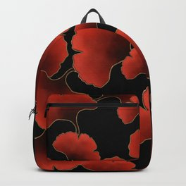 Red ginkgo Backpack