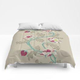 Filigree Floral Comforters