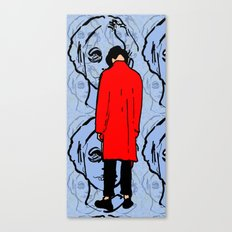 Red Trench Canvas Print
