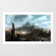 Daedalus Construction Yards Art Print