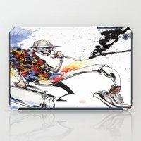 hunter s thompson iPad Cases featuring Hunter S Thompson by BINDU by BINDU