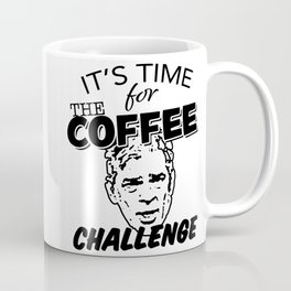 It's Time For The Coffee Challenge with George Clooney Coffee Mug
