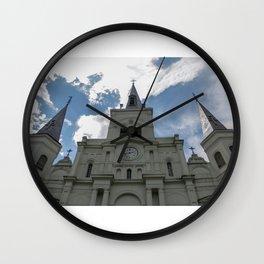 Piercing the Heavens Wall Clock