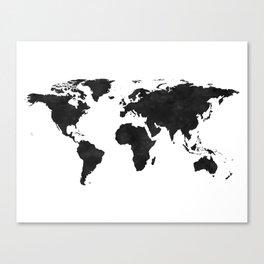 World Map Wall Art,World Map Canvas,World Map Print,World Map Poster,Printable Art,World Map Svg,Wat Canvas Print