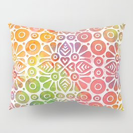 DP050-8 Colorful Moroccan pattern Pillow Sham