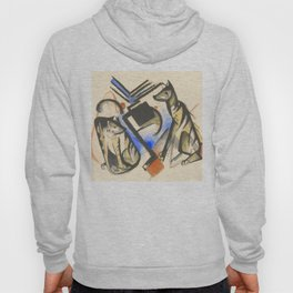 "Franz Marc ""Two Wolves"" Hoody"