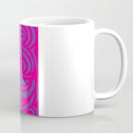 IRON of STEEL Pink on Purple  Coffee Mug
