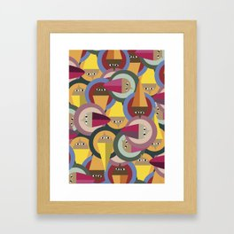 Many Men  Framed Art Print