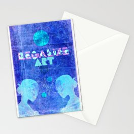 """Art Chic"" (Legalize Art part2) Stationery Cards"