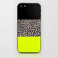 Leopard National Flag V iPhone & iPod Skin