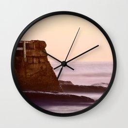 Beach Cliffs Wall Clock