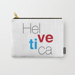 Helvetica Carry-All Pouch