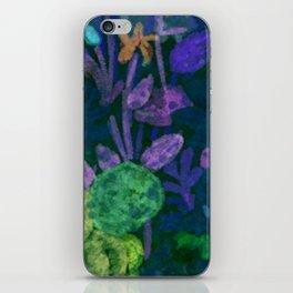 Light Bright Florals iPhone Skin