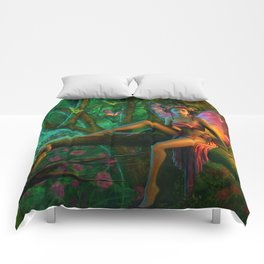 Exotic Butterfly Comforters