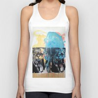 tigers Tank Tops featuring YAWNING TIGERS by Brandon Neher