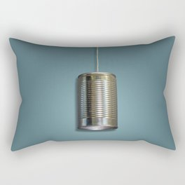 Vintage Tin Can Phone Rectangular Pillow