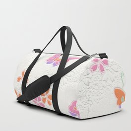 Pretty pink butterflies Duffle Bag