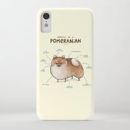 Anatomy of a Pomeranian iPhone Case