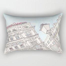 Paris Beautiful Buildings and Sky Rectangular Pillow
