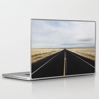road Laptop & iPad Skins featuring Road by Gilganizer