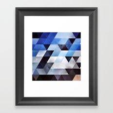 blykk lyyzt Framed Art Print