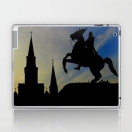 Landmark Silhouettes in Casa de Armas Laptop & iPad Skin