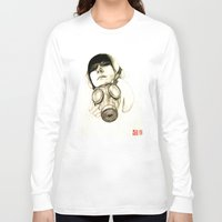 mask Long Sleeve T-shirts featuring MASK by lantomo