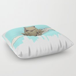 City Frog Floor Pillow