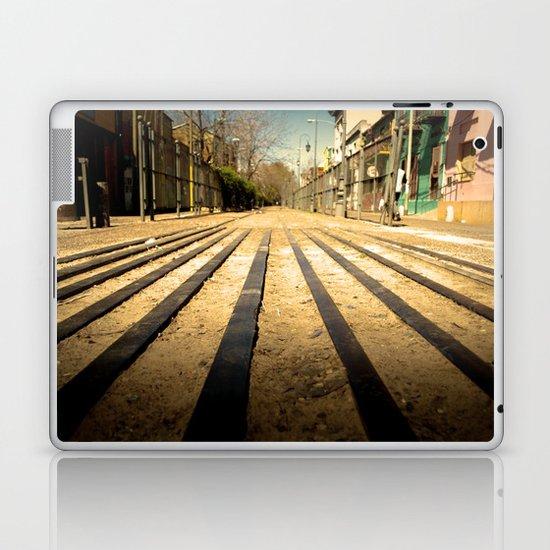 Train Line Laptop & iPad Skin