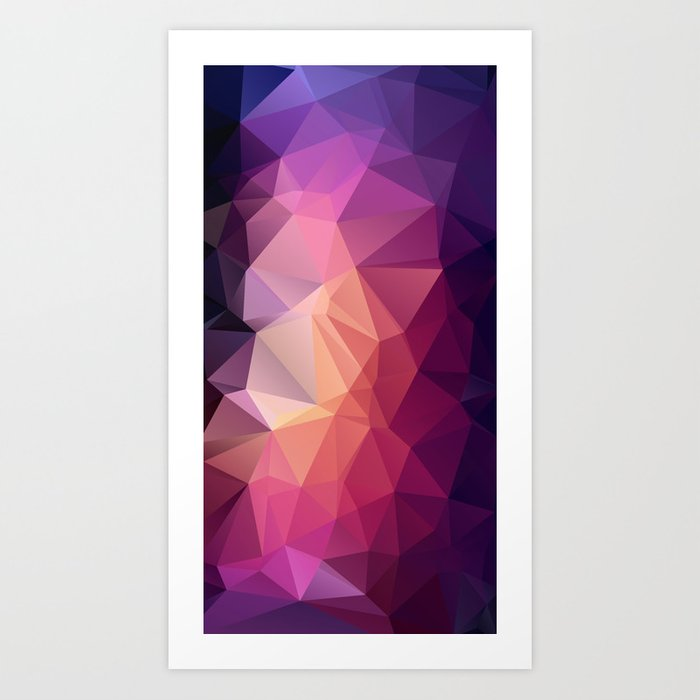 VerticalDiamond Art Print