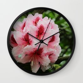 Happiness Grows In The Garden Wall Clock
