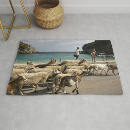 Show me the way to go(at) home Rug