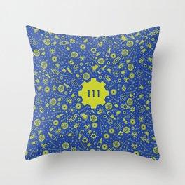Fallout Vault 111 Throw Pillow