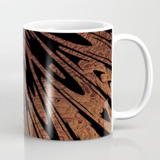 Native Tapestry in Burnt Umber Coffee Mug