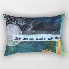 Moon made Me Rectangular Pillow