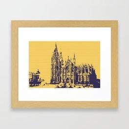 Cologne Cathedral Koelner Dom Framed Art Print