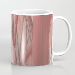 Red bamboo Coffee Mug