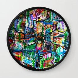 Backyard Garden Wall Clock