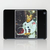 the xx iPad Cases featuring xX SPACE CAT Xx by Frankie White