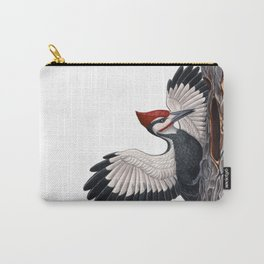 Pileated Woodpecker Carry-All Pouch