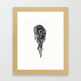 Henna Design 11 Framed Art Print