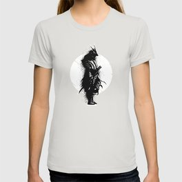 Japanese Warrior Design T-shirt